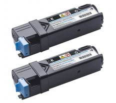Dell toner 2150cn/2150cdn/ 2155cn/2155cdn black (2x3K) double pack 593-11035 899WG, 331-0720, 84R1W