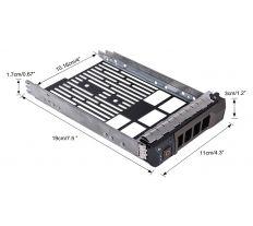"Dell rámeček pro SATA/SAS HDD do serveru PowerEdge 3,5"" REFUBRISHED F238F.REF X968D"