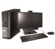 Kancelářská PC sestava Dell OptiPlex 9020 + monitor P2312H + klávesnice, myš a webkamera