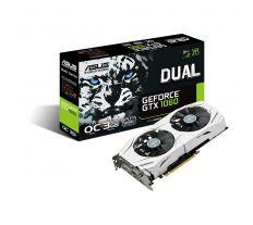 ASUS GeForce GTX 1060 DUAL-GTX1060-O3G, 3GB GDDR5 - REFUBRISHED