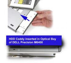 Dell rámeček pro sekundární HDD do Media Bay šachty pro Precision M4600, M4700