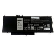 Dell Baterie 4-cell 51W/HR LI-ON pro Latitude E5x50 451-BBLN 1KY05, F5WW5, R9XM9, 8V5GX, K9GVN, 7FR5J, WYJC2, G5810